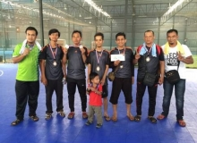 Male 2nd runner up PQRS FC